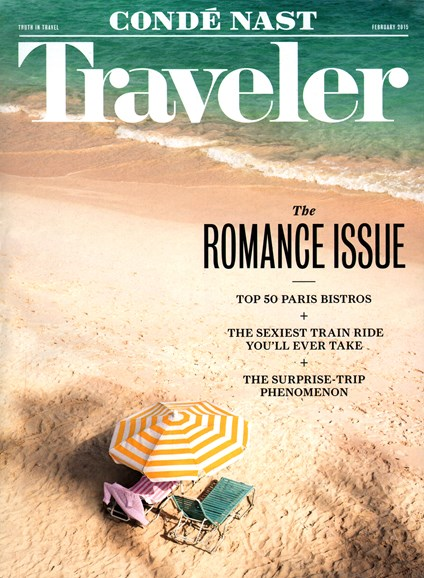 Condé Nast Traveler Cover - 2/1/2015