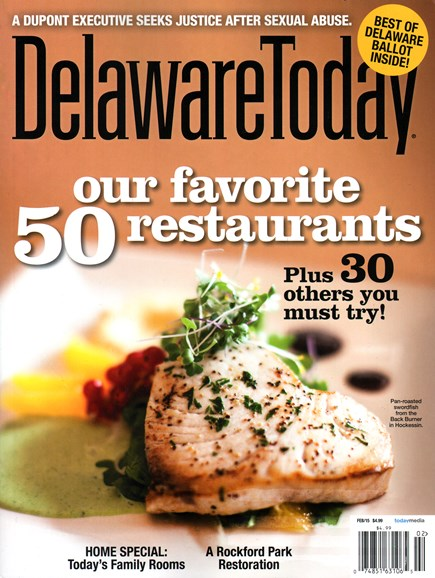 Delaware Today Cover - 2/1/2015