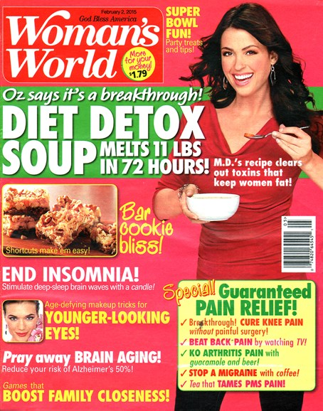 Woman's World Cover - 2/2/2015