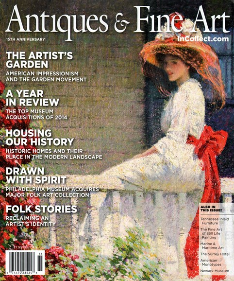 Antiques & Fine Art Cover - 1/1/2015
