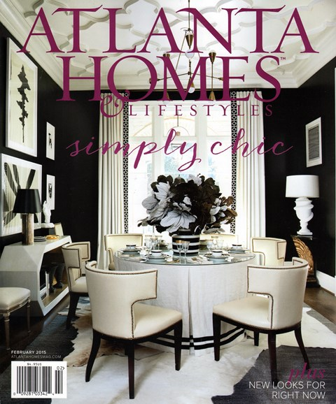Atlanta Homes & Lifestyles Cover - 2/1/2015