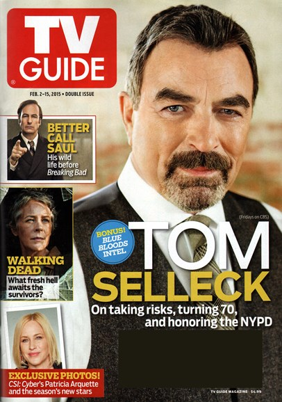 TV Guide Cover - 2/2/2015