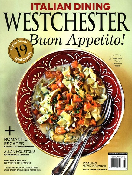 Westchester Magazine Cover - 2/1/2015