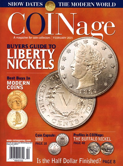 Coinage Cover - 2/1/2015