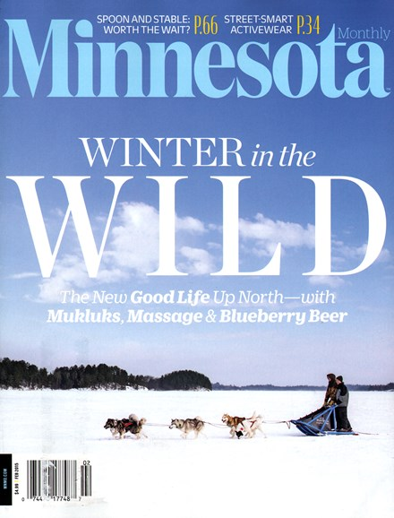 Minnesota Monthly Cover - 2/1/2015