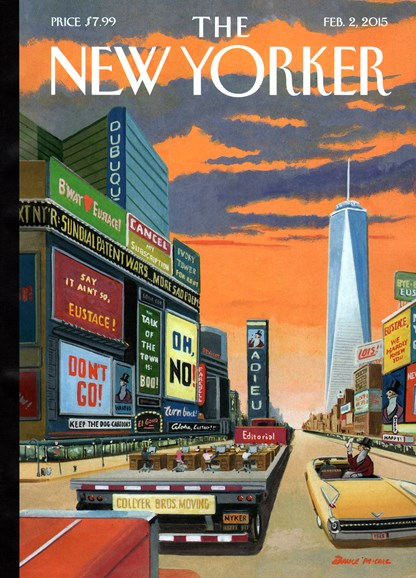 The New Yorker Cover - 2/2/2015