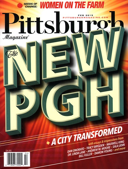 Pittsburgh Magazine Cover - 2/1/2015