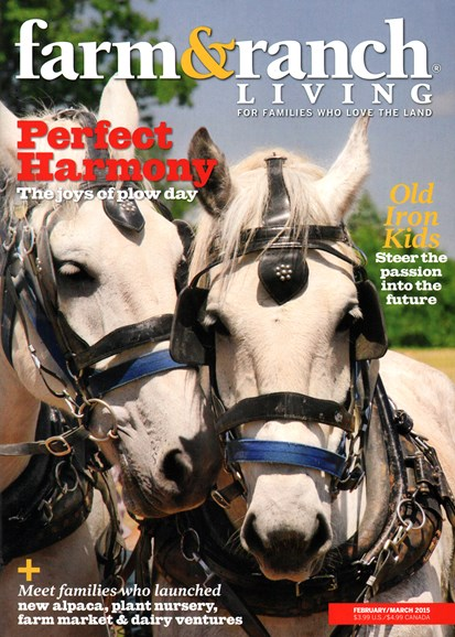 Farm & Ranch Living Cover - 2/1/2015