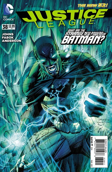 Justice League Cover - 3/1/2015