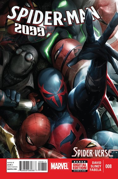 Spider-Man 2099 Cover - 3/1/2015