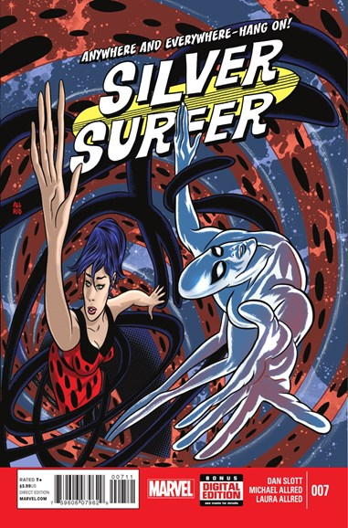 Silver Surfer Cover - 1/1/2015