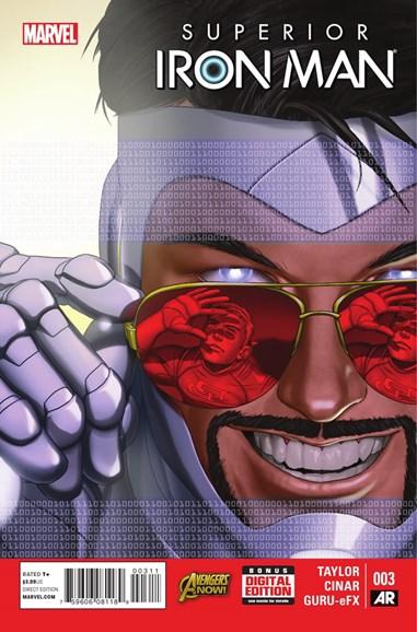 Tony Stark: Iron Man Cover - 2/1/2015
