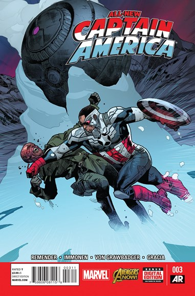 Captain America Cover - 3/1/2015