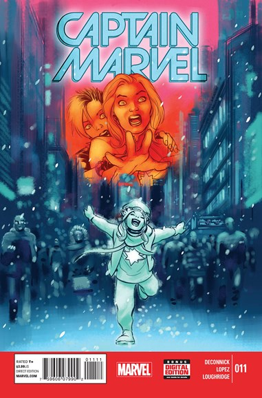 Captain Marvel Cover - 3/1/2015