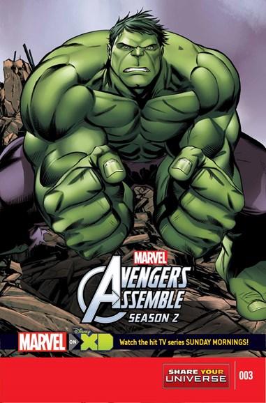 Marvel Universe Avengers Assemble Cover - 3/1/2015