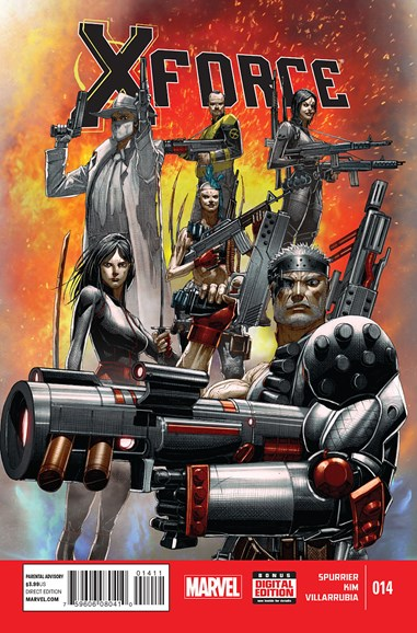 X-Force Cover - 3/1/2015