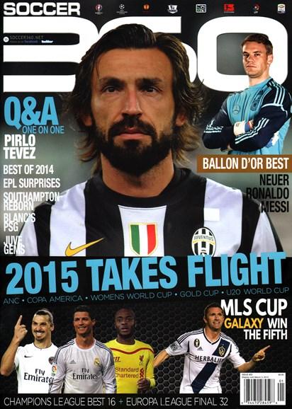 Soccer 360 Cover - 1/1/2015