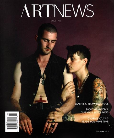 ARTnews Cover - 2/1/2015