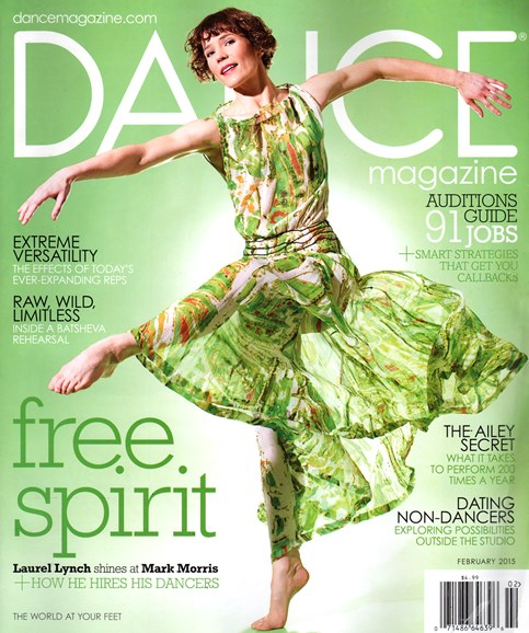 Dance Magazine Cover - 2/1/2015