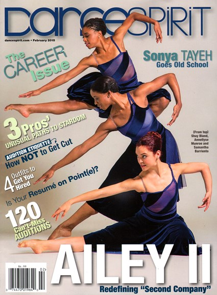 Dance Spirit Cover - 2/1/2015