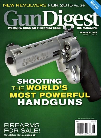 Gun Digest Cover - 2/1/2015