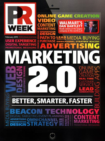 PRWeek Cover - 2/1/2015