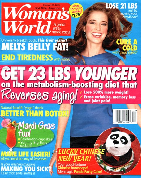 Woman's World Cover - 2/16/2015