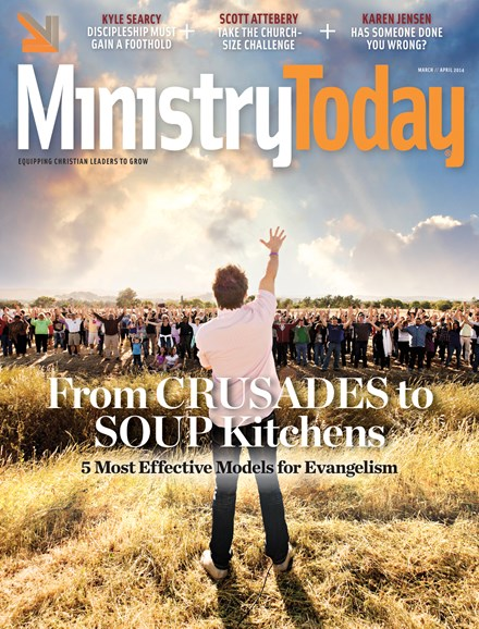 Ministry Today Cover - 3/1/2014