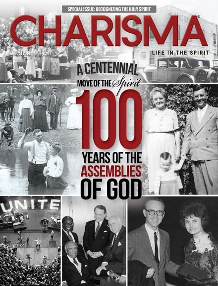 Charisma Cover - 8/1/2014