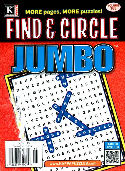 Find & Circle Jumbo Cover - 3/1/2015