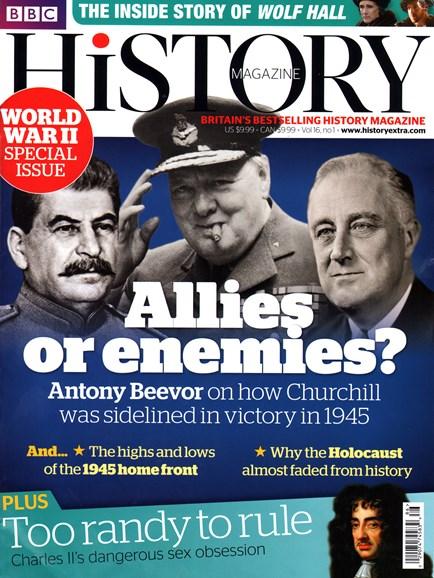 BBC History Cover - 1/1/2015
