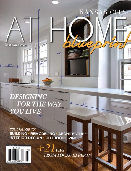 Kansas City Homes & Gardens Cover - 2/1/2015