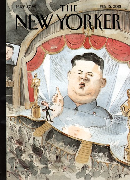 The New Yorker Cover - 2/16/2015