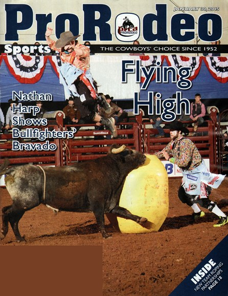 Pro Rodeo Sports News Cover - 1/30/2015