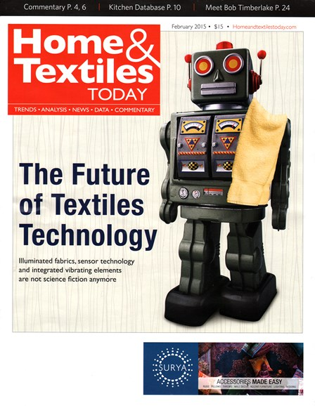 Home & Textiles Today Cover - 2/1/2015