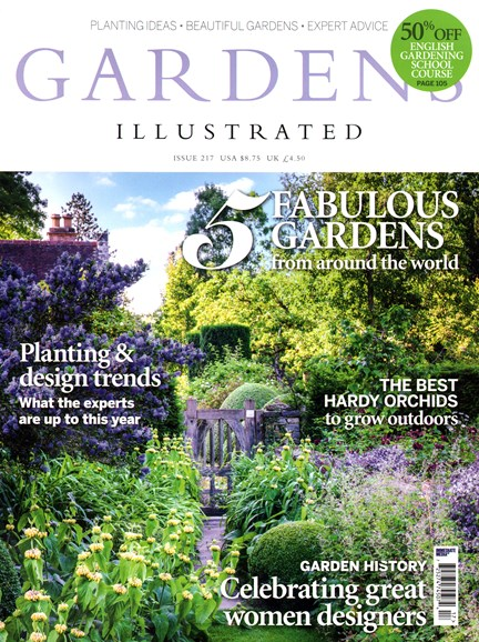 Gardens Illustrated Cover - 1/1/2015