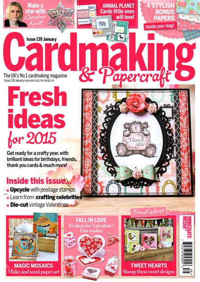 CardMaking & PaperCrafts Cover - 1/1/2015