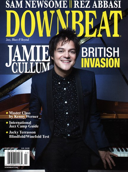 DownBeat Cover - 3/1/2015