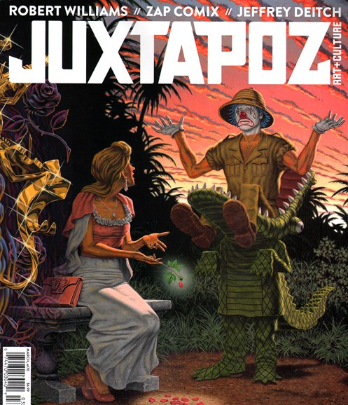Juxtapoz Cover - 3/1/2015