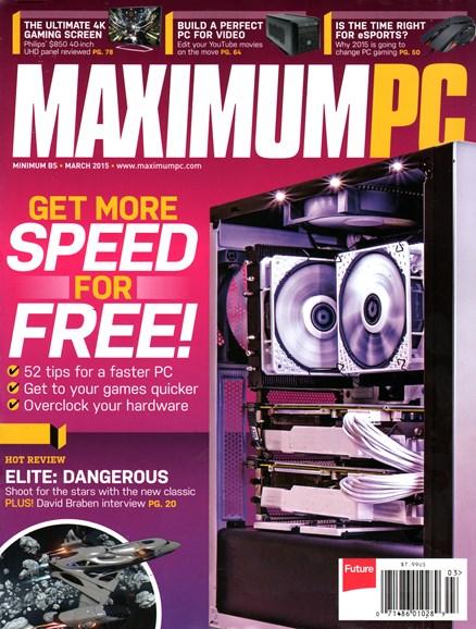 Maximum PC Cover - 3/1/2015