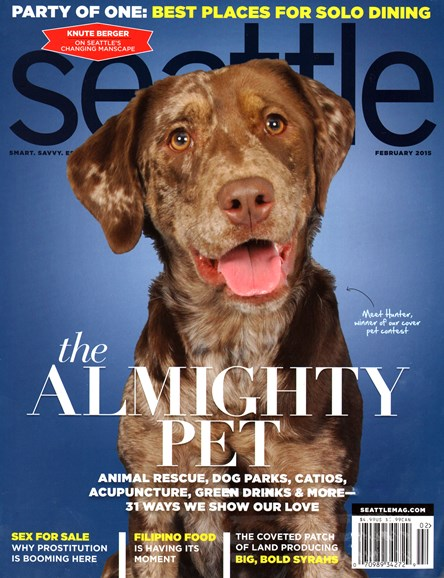 Seattle Magazine Cover - 2/1/2015