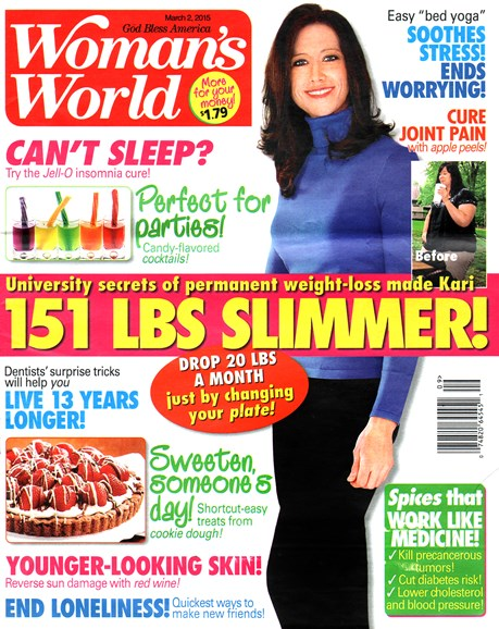 Woman's World Cover - 3/2/2015