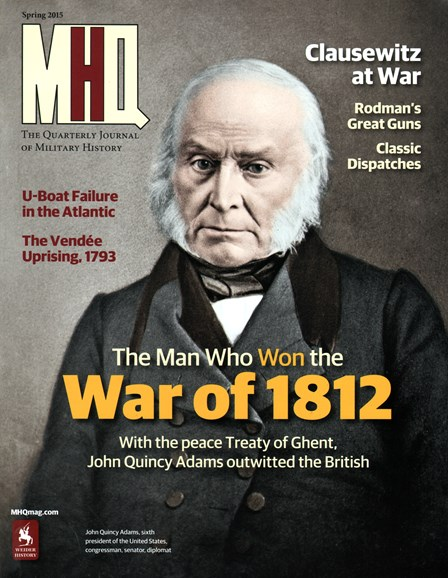 MHQ: Military History Quarterly Cover - 3/1/2015