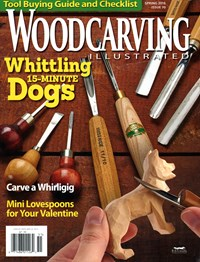Wood Carving Illustrated Magazine | 3/1/2015 Cover