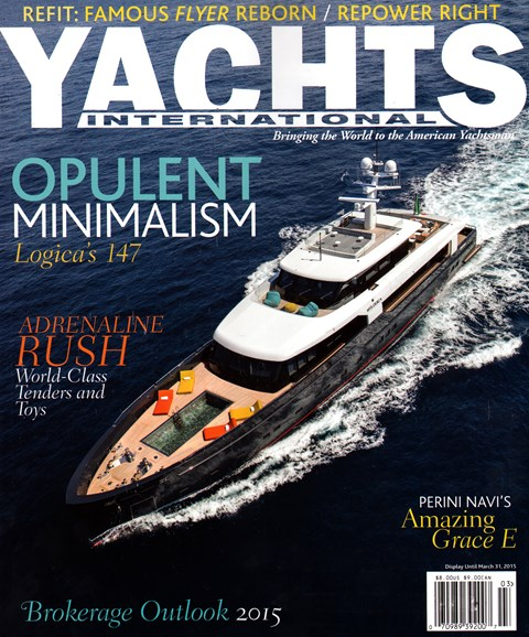Yachts International Cover - 3/1/2015