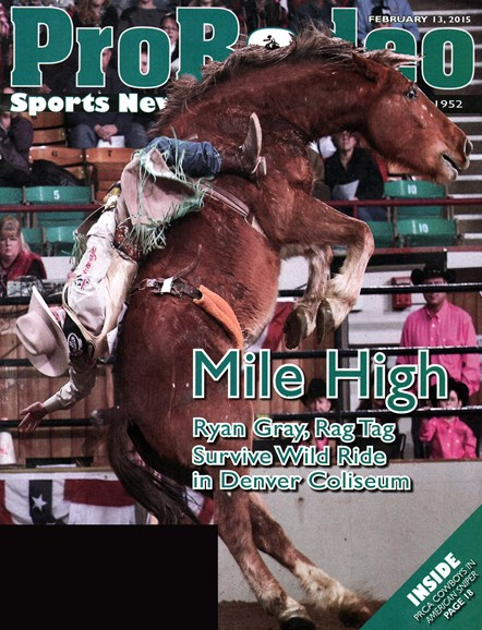 Pro Rodeo Sports News Cover - 2/13/2015