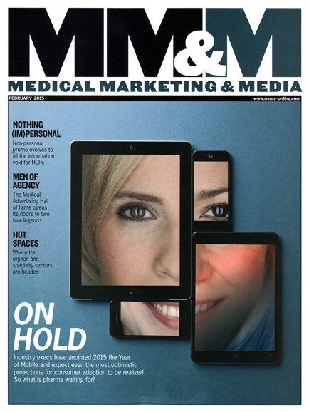 Medical Marketing & Media Cover - 2/1/2015