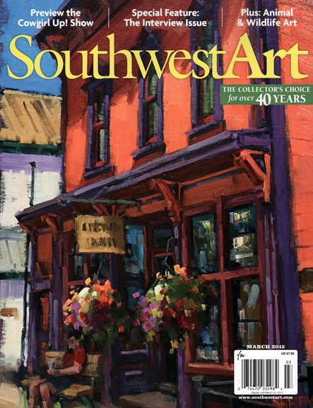 Southwest Art Cover - 3/1/2015