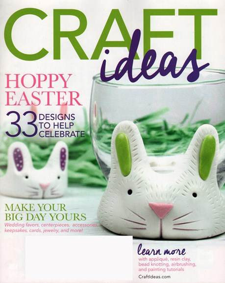 Craft Ideas Cover - 3/1/2015