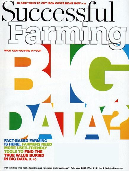 Successful Farming Cover - 2/1/2015